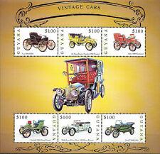 "GUYANA - 2000 MNH ""AUTOMOBILES - Vintage CARS"" Souvenir Sheet !!!"