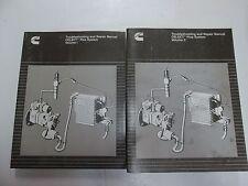 1998 Cummins CELECT Plus System Troubleshooting & Repair Service Manual 2VOL SET
