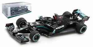 Spark S6477 Mercedes AMG W11 Winner British GP 2020 - Lewis Hamilton 1/43 Scale