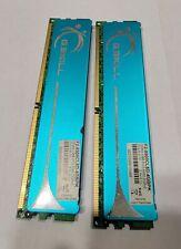 4GB G.SKILL F2-8500CL5D-4GBPK (2X2GB) DDR2 GAMING DESKTOP RAM MEMORY 2.0v-2.1v