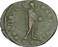 Constantine I The Great 312AD Ancient Roman Coin Sol Sun God Cult  i40371