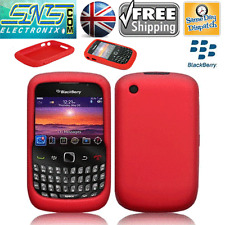Silicone Gel Skin Back Case Cover no keypad 4 Blackberry Curve BB 8520 8530 9300