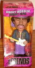 Jimi Hendrix Rock Legends Wacky Wobbler Bobble Head Purple Haze Sealed In Box!
