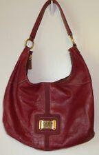 Women's Purse,Maxx New York Signature,Leather,Polyester,Plum,Zipper