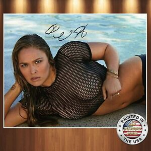 Ronda Rousey Autographed Signed 8x10 High Quality Premium Photo REPRINT