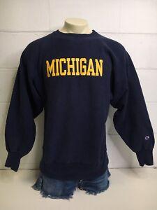 Champion Reverse Weave Sweatshirt Vtg 90s MICHIGAN WOLVERINES University USA XL