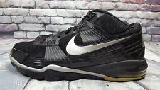 DS NIKE 2010 AIR TRAINER SC BLACK SILVER 14 CHLOROPHYLL RETRO SUPER BOWL 120$