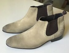 Base London Broker Suede Chelsea Boots Brand New Size US 7.5