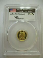 2018-W $10 PROOF GOLD LIBERTY HIGH RELIEF PCGS PR70 FDOI JOHN MERCANTI