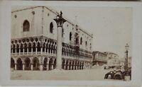 Carlo Ponti Venezia Italia CDV Foto Vintage Albumina