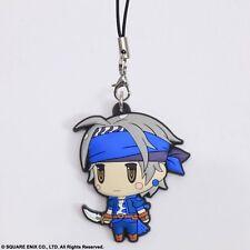 Square Enix Trading Rubber Strap Cellphone Charm Final Fantasy VI 6 Locke Lock