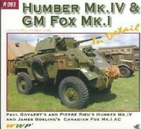 Humber Mk. IV & GM Fox Mk. I in detail- Reference: R063-NUOVO!!!