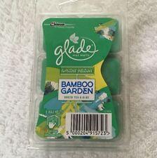 1 Box Glade Wax Melts Bamboo Garden Green Tea And Aloe 6 Wax Melts