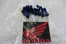 HONDA CBR 1100XX SC35 TORNILLOS bremsleitungsschrauben freno azul #r5010
