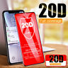 20D Full Coverage Tempered Glass Screen Protector For iPhone 11 Pro Max X XS XR