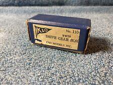 Vintage K&O Models Inc. #110 Twin Drive Gear Box NIB