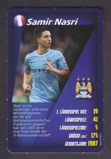 Real - Welt Fussball Stars 2014 - Samir Nasri - Manchester City