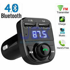 In-Car Bluetooth Hands Free MP3 Player/Phone to Radio FM Transmitter Modulator 3