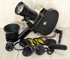 EXC CUSTOM 4 LENSES SET KRASNOGORSK-3 Super16 upgraded movie camera bayonet