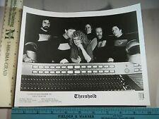 Rare Original VTG British Band Threshold Music Photo Still