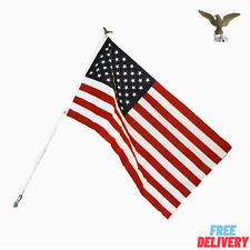 3x5 Independence Outdoor American Flag With Pole Usa Flag Us Flag Garden Flag
