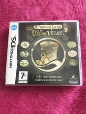 Professor Layton And The Curious Village Nintendo DS Game
