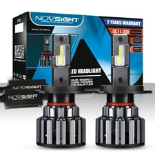 NOVSIGHT 2Pcs H4 LED Bulb Hi/Low Beam 90W 14400LM Headlight Conversion Kit 6000K