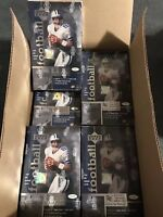 1997 UPPER DECK NFL FOOTBALL 24 FACTORY SEALED HOBBY BOXES IN CASE (24 Boxes)