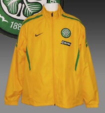 New Nike CELTIC Football Club Tracksuit Jacket Carling Sponsor Yellow M