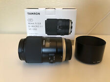 Tamron SP 90mm f/2.8 Di Macro 1:1 VC USD Lens F017 For Canon EF