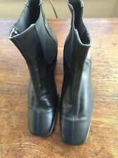 Ladies Leather high ankle Boots by Lotus. Black. 6. Worn Once Ex cond