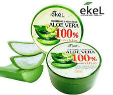 Ekel 100% Aloe Vera Fresh Soothing&Moisture Gel 300ml Korea Cosmetic