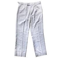 Genuine British Army Uniform White Sailors Trousers Royal Navy Pants RN Class II