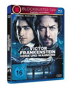 °VICTOR FRANKESTEIN GENIE UND WAHNSINN° Blu-Ray mit Daniel Radcliffe