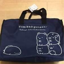 Sumikko Gurash Boston Bag, Large / Big, Travel, Navy, Kawaii San-X Japan