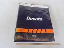 CATALOGO ORIGINALE RICAMBI 1986 FIAT DUCATO 2500 DIESEL E TURBO D