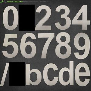 Design Edelstahl V2A Hausnummer 15 cm hoch Hausnummern Buchstaben hochwertige