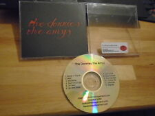 RARE ADVANCE PROMO The Donnies The Amys CD s/t indie pop rock white stripes 2012