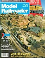 Model Railroader Magazine - June 1991