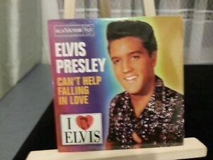 Elvis Presley – Can't Help Falling In Love (SPANISH PROMO CD SINGLE NEW SEALED)