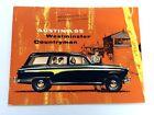 1957 1958 Austin A95 Westminster Countryman Vintage Car Sales Brochure Catalog