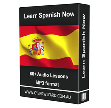Learn SPANISH Now LANGUAGE COURSE AUDIO TUTORIAL GUIDE Instant Download