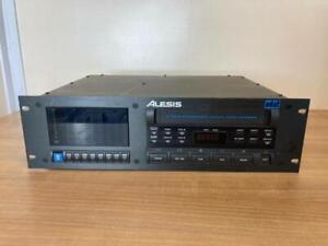 ALESIS ADAT 8 TRACK DIGITAL AUDIO TAPE DECK RECORDER NO REMOTE