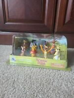 Disney Winnie The Pooh Figurine Playset 7 Figure Set New Sealed!