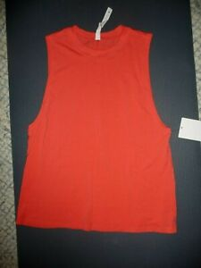 Lululemon ALL YOURS TANK PINK PUNCH Sz 2 NWT