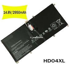 NEW HD04XL 685989-001 HSTNN-IB3V Battery for HP Spectre XT Pro 13-b000 13-2120tu