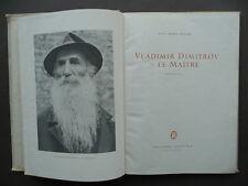 Vladimir Dimitrov Le Maitre Monographie Kolev Bulgaria Sofia 1955 Arte Pittura