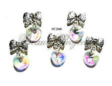 5pc Nail Art Charms 3D Nail Rhinestones Decoration Jewelry DIY Bling - C244