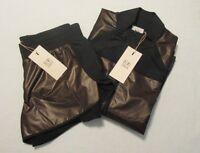 NWT Fabletics Demi Lovato Outfit Metallic Rose Gold Jacket Short Sz Medium 6-8