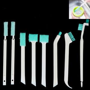 8Pc Clean Narrow Brush Long Handle Fish Tank Straw Gap Glass Tube Cleaning Bruzh